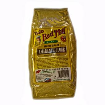 Bob's Red Mill Organic Whole Grain Amaranth Flour Stone Ground 623g.