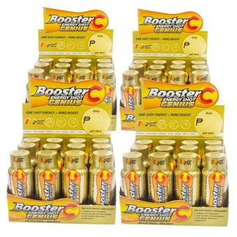 Booster C Energy Shot Genius variant 60 mL Set of 48 (Gold)(…)