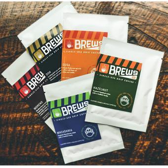BrewsCo Drip Coffee- ASSORTED (5pcs) - 2