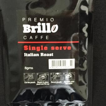 Brillo 10 sachets Single Serve Italian Roast