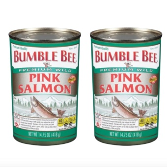 Bumble Bee Pink Salmon 418g Set of 2 Price Philippines