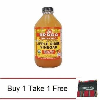Buy 1 Bragg Organic Apple Cider Vinegar Raw Unfiltered 473ml Take 1Free Baguio Coin Purse