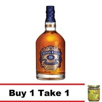 Buy 1 Chivas Regal 18 yo 750ml Take 1 Natural Wild Raw Honey