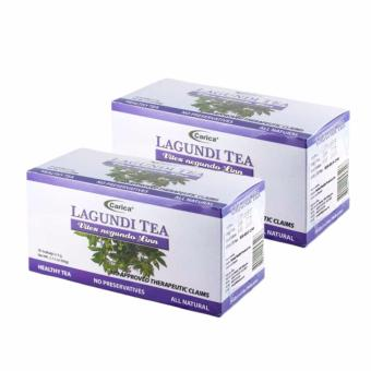 Carica Lagundi Tea - Box of 30 Teabags, Set of 2