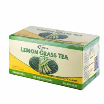 Carica Lemongrass Tea - Box of 30 Teabags