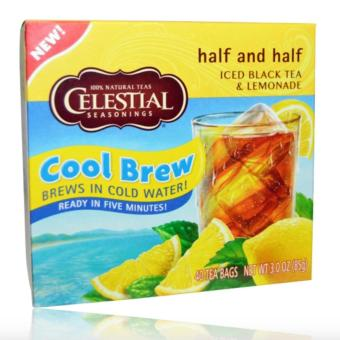Celestial Seasonings Tea Cool Brew Half and Half 85g