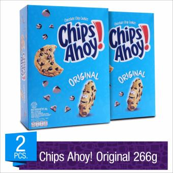 Chips Ahoy! Original Chocolate Chip Cookies 266g (Box of 2)