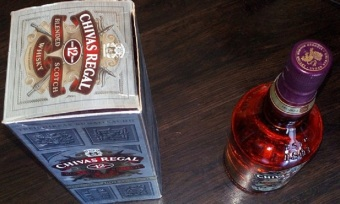 Chivas Regal 12 Year Old Blended Scotch Whisky 750 ml