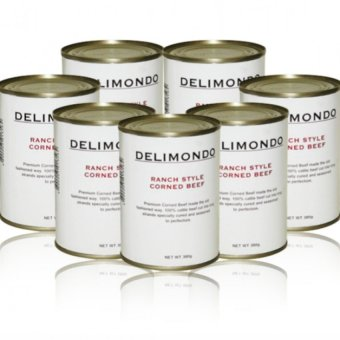 Delimondo Ranch Style Corned Beef Set of 7