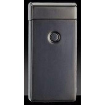 Electronic echargeable Windproof Double Arc Lighter Classy Retro(Black)