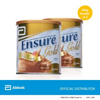 Ensure Gold Chocolate 400g (Bundle of 2)