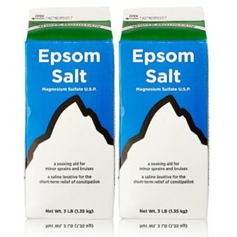 Epsom Salt - Saline Laxative 907g Set of 2