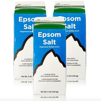 Epsom Salt - Saline Laxative 907g Set of 3