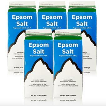 Epsom Salt - Saline Laxative 907g Set of 5