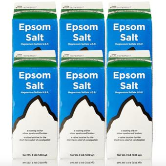 Epsom Salt - Saline Laxative 907g Set of 6