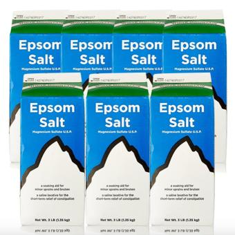 Epsom Salt - Saline Laxative 907g Set of 7