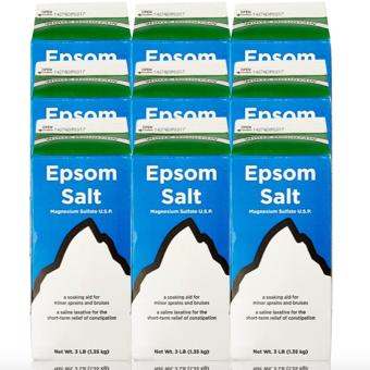 Epsom Salt - Saline Laxative 907g Set of 9
