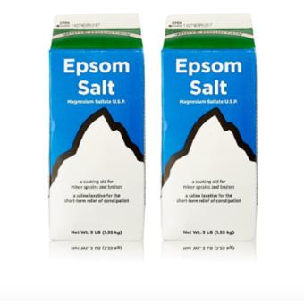 Epsom Salt - Saline Laxative Set of 2