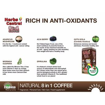 Essensa Naturale- Herbs Central 8 in 1 Coffee