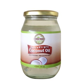 Farmers Produce Virgin Coconut Oil 16oz (473ml) Export quality -Cold pressed Price Philippines