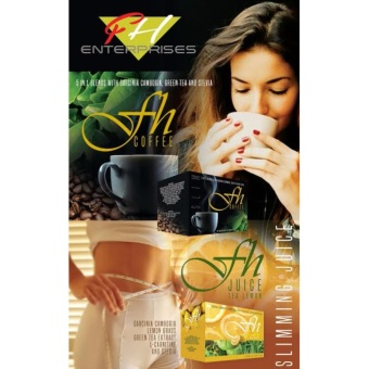 FH Slimming Coffee and FH Slimming Juice Tea Lemon (SlimmingBundle) - 2