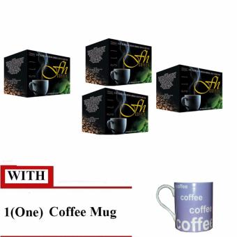 FH Slimming Coffee with Free Mug (4 Boxes)