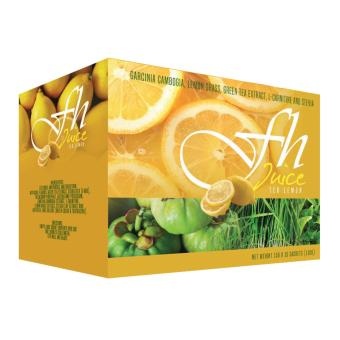 FH Slimming Juice Tea Lemon (15 grams x 10 Sachet)