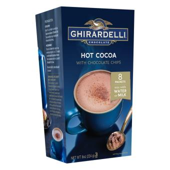 Ghirardelli Hot Cocoa with Chocolate Chips 1oz (8 Packs) Price Philippines