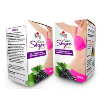 GLUTASHAPE JUICE by ROSSY ME ( SET OF 2 boxes) Price Philippines