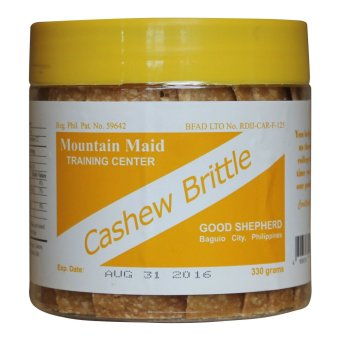 Good Shepherd Cashew Brittle (Clear/Brown)