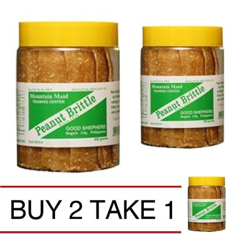 Good Shepherd Peanut Brittle 500g Buy 2 Take 1