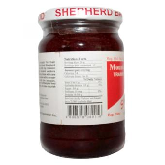 Good Shepherd Strawberry Jam 12oz (Clear/Red) - picture 2