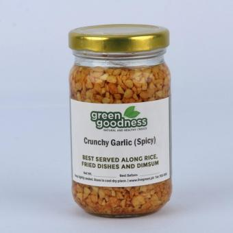 Green Goodness Crunchy Garlic - Spicy (200g)