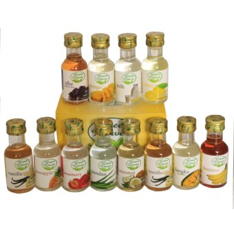 Green Leaves Concentrated Assorted Essences 30ml x 12 pcs
