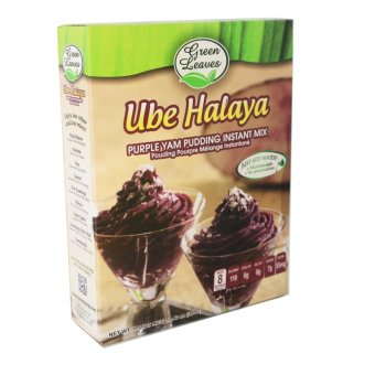 Green Leaves Purple Yam and Coconut Instant Dessert- Ube HalayaPudding Instant Mix 380g Price Philippines