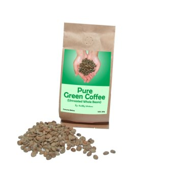 Healthy Solutions Green Coffee Beans (250 grams)
