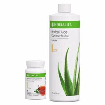 Herbalife Aloe Concentrate Mango and Herbal Tea Concentrate 50g