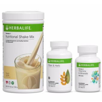 Herbalife Basic Program (Vanilla, Fiber & Herb and Vitamins& Minerals) Price Philippines