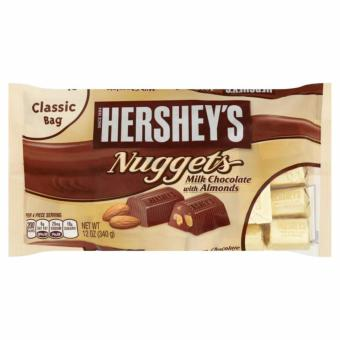 Hershey's Nuggets Milk Chocolate with Almonds 340g