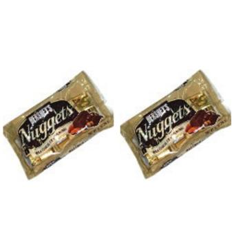 Hersheys's Nuggets Milk Chocolate with Almonds 180g - Set of 2