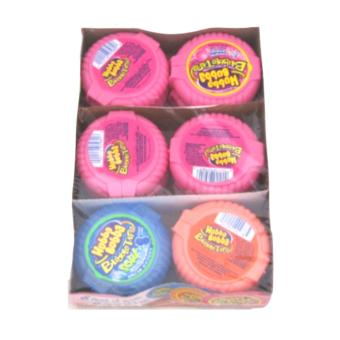 Hubba Bubba Bubble Tape Gum Rolls 1 Box (12 Pieces)