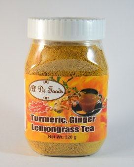 Harga 1 x Turmeric, Ginger and Lemongrass Tea 320 gms Bottle