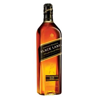 Harga Johnnie Walker Black Label Scotch Whisky 1L
