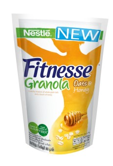 Harga NESTLE FITNESSE Oats & Honey Granola 300g