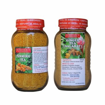 Harga Natural Turmeric Tea Bundled with Organic Ginger tea