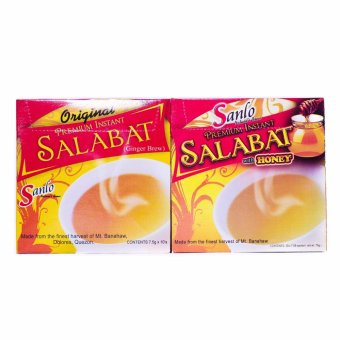 Harga Sanlo Premium Instant Salabat, Original and Honey