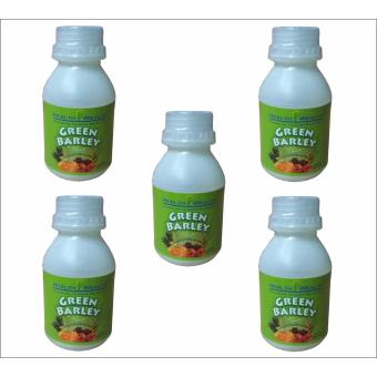 Harga Health Wealth Green Barley Drink 5 bottles