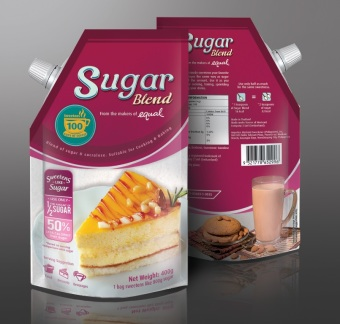 Harga Sugar Blend by Equal 400g pouch