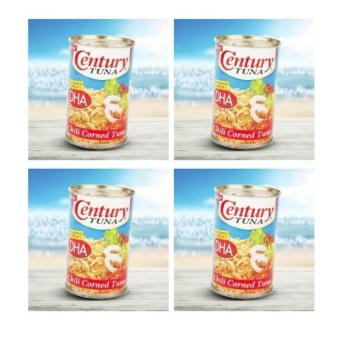 Harga Century Chili Corned Tuna 150g - Set of 4