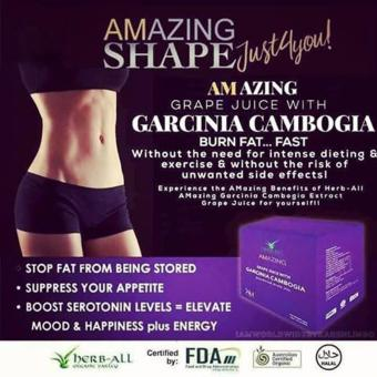 Harga IAM WORLDWIDE Amazing Grape Juice with Garcinia Cambogia (10 sachets)